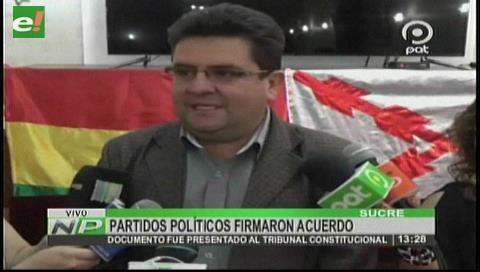 Opositores en Chuquisaca unen fuerzas contra la reelección