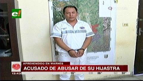 Detienen a sujeto acusado de abusar a su hijastra de 9 años