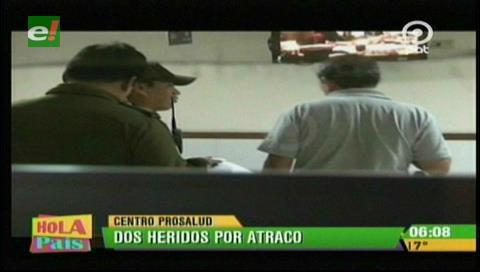 Hieren a dos personas tras sufrir un atraco cerca del Avión Pirata