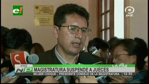 Magistratura suspenderá a jueces implicados en la liberación de Fabio Andrade