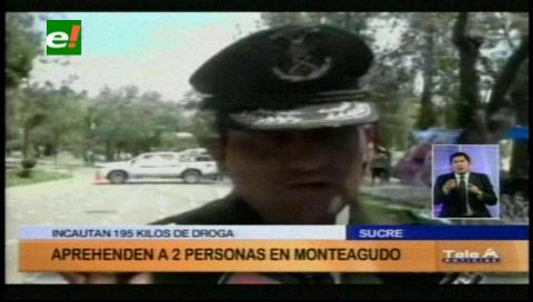 Felcn incauta 195 kilos de marihuana en la ruta Sucre-Monteagudo