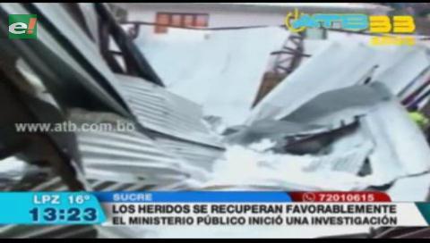 Cuantifican daños de la fuerte granizada en Sucre