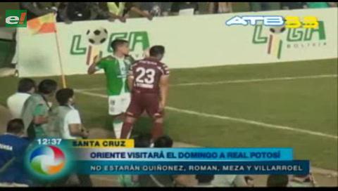Oriente Petrolero visitará a Real Potosí por la fecha 13 del Torneo Clausura
