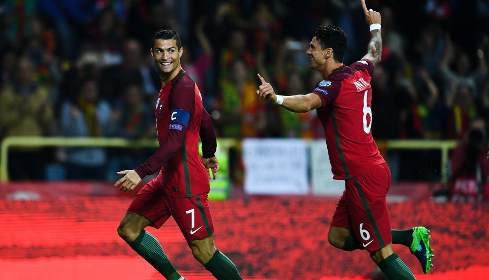 Portugal venció a Suiza y sacó boleto a Rusia 2018