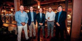 Velada de confraternización en La Copa Los Andes