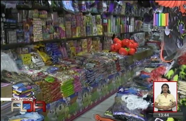 Alcaldía realizó operativos a tiendas de dulces