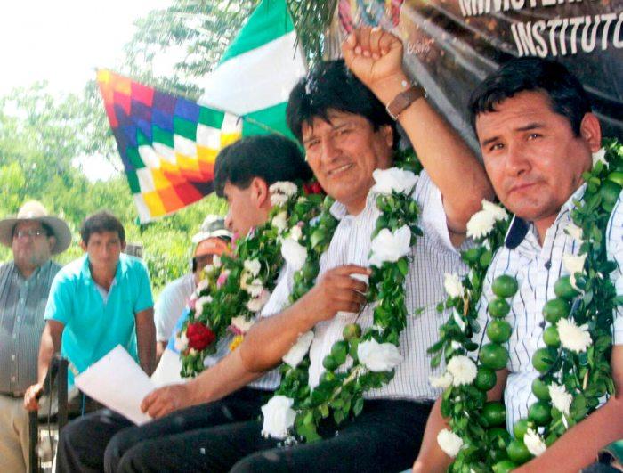 Pese al rechazo ciudadano del 21 de febrero de 2016 para una segunda reelección, el Vicepresidente llamó a ir preparando la campaña para el 2019 con Evo Morales.