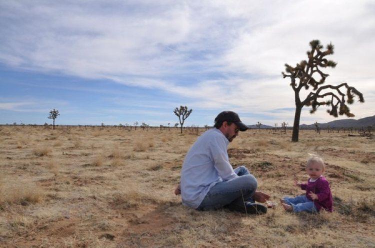 Matt Logelin con su hija, Madeline. (Foto: gentileza Matt Logelin)