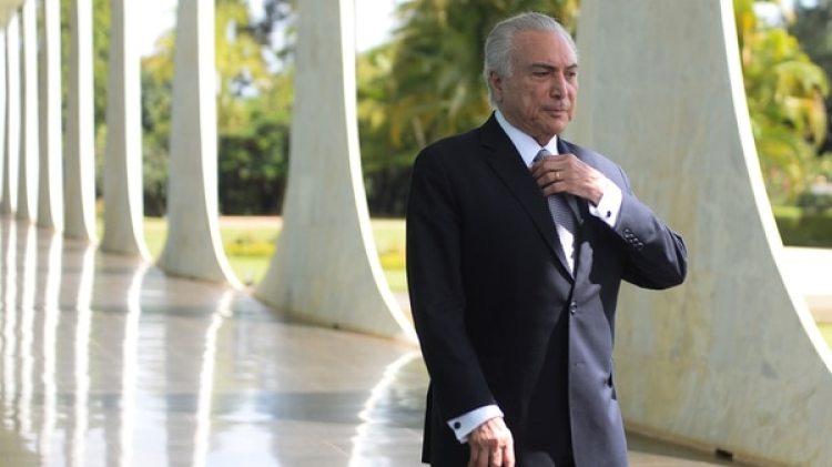 El presidente brasileño Michel Temer (Reuters)