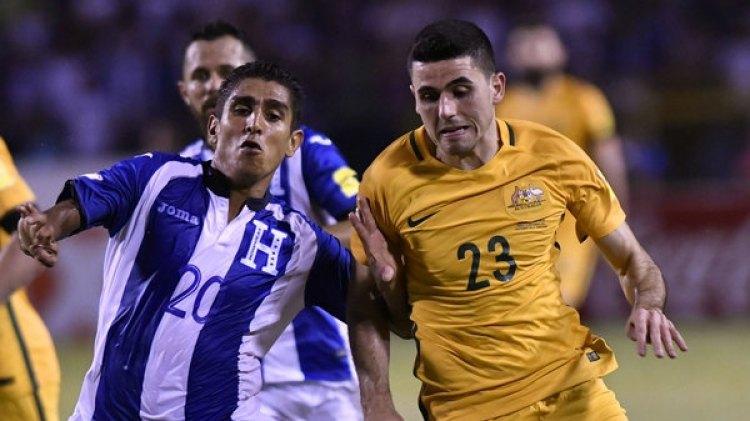 La igualdad entre Honduras y Australia dejó el resultado abierto para duelo en Sydney (AFP)