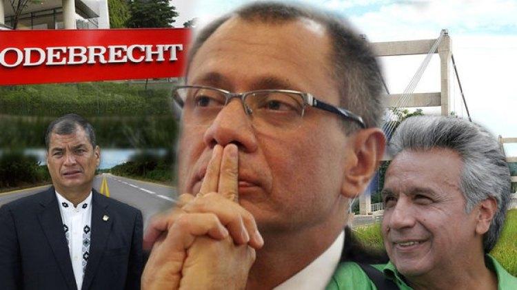Jorge Glas fue vice y aliado Rafael Correa, quien lo impuso como compañero de fórmula de Lenín Moreno, que le soltó la mano apenas llegó al gobierno.