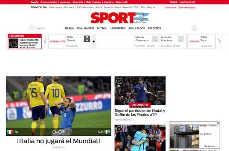 Sport, España