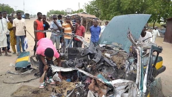 Atentado suicida deja 12 fallecidos en Nigeria