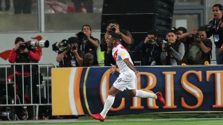 Frafán marcó el primer gol del partido ante Nueva Zelanda (EFE)
