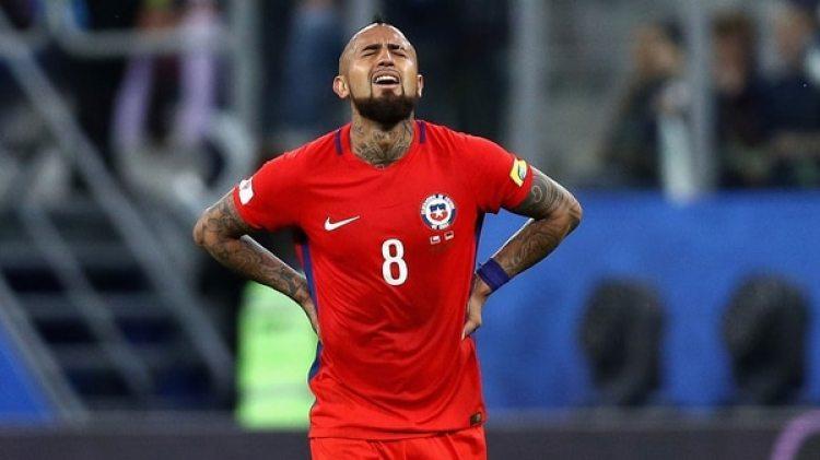 """Arturo Vidal: el """"Rey"""", actualmente en el Bayern Münich, un de las máximas estrellas sin Mundial (Getty)"""