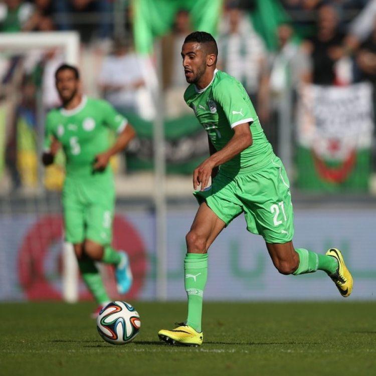 Riyad Mahrez: clave en el histórico título de Leicester, no irá tras la mala performance de Argelia (Getty)