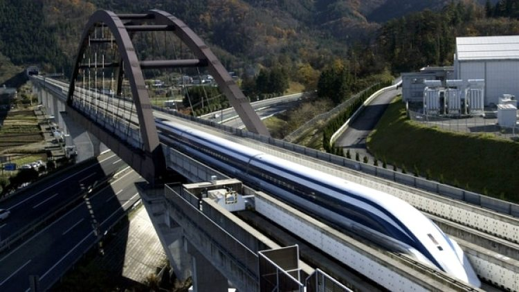 Un tren bala japonés. (Getty)