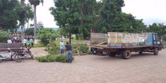 Un fuerte temporal causó destrozos en San José de Chiquitos