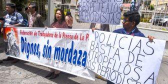 Gobierno ataca a entidades defensoras del periodismo boliviano