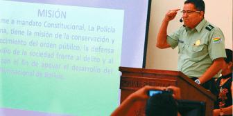 Policía pide invertir más en seguridad y que los jueces no liberen a los prontuariados