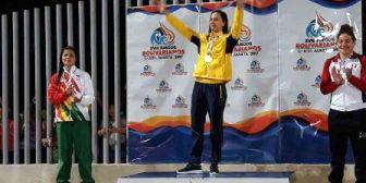 Karen Tórrez la sirena de plata