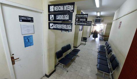 El paro se cumple en el Hospital de Clínicas de La Paz- Foto: Archivo