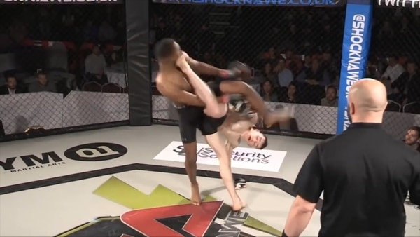 Viral: debutó en MMA con el mejor KO del año, pero un insólito error anuló el combate
