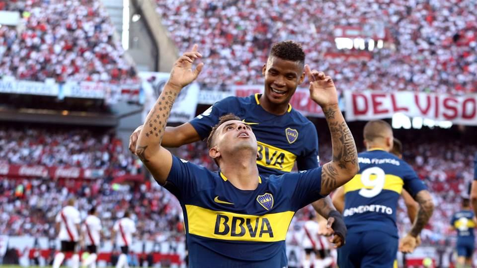 Image result for cardona boca festejo gol