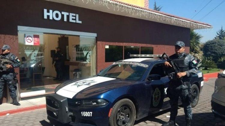 Operativo en Toluca (Foto: policía Federal)