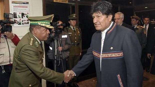Evo Morales oficializa su candidatura presidencial para 2019