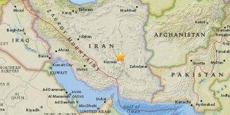Un terremoto de 6,3 grados de magnitud sacudió al sureste de Irán