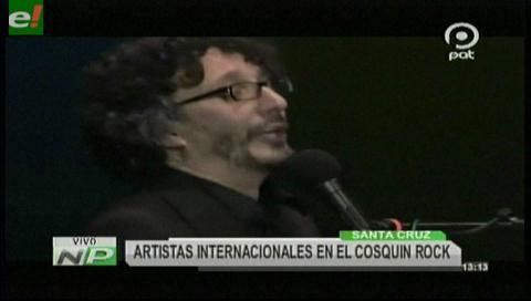 Artistas internacionales presentes en Cosquín Rock Bolivia