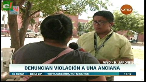 Denuncian abuso sexual a una anciana