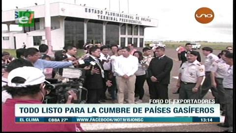 Bolivia alista detalles con miras al Foro de Países Exportadores de Gas