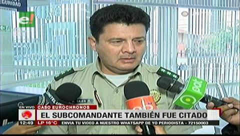 Subcomandante policial afirma desconocer la cantidad de policías en el operativo