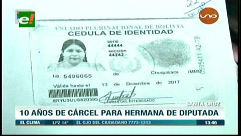 Condenan a 10 años de cárcel a hermana de diputada Arias por caso de narcotráfico