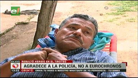Cabo Dionisio Castro lamenta la falta de ayuda de la empresa Eurochronos
