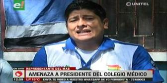 """El MAS da ultimátum a los médicos y amenaza con """"chicotear"""" a Montero"""