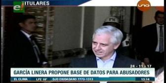 Video titulares de noticias de TV – Bolivia, mediodía del viernes 24 de noviembre de 2017
