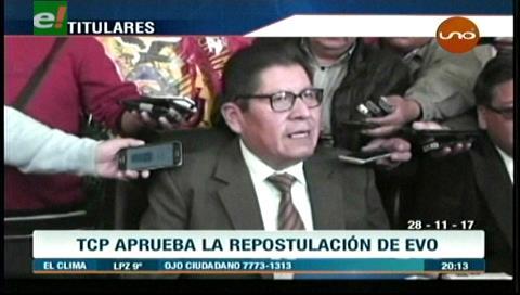 Video titulares de noticias de TV – Bolivia, noche del martes 28 de noviembre de 2017