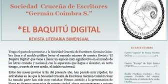 Sociedad Cruceña de Escritores presentó el segundo número de su revista digital