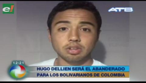 Hugo Dallien será abanderado de Bolivia en los Juegos Bolivarianos 2017