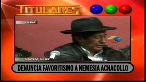 Video titulares de noticias de TV – Bolivia, noche del viernes 10 de noviembre de 2017