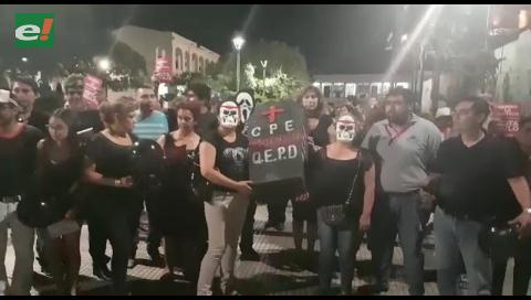 Santa Cruz dice NO en las calles
