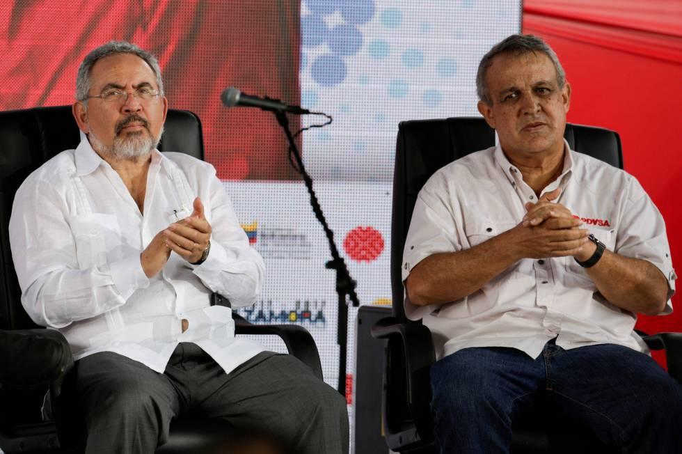 Detenidos en Venezuela Del Pino y Martínez, exministros de Petróleo