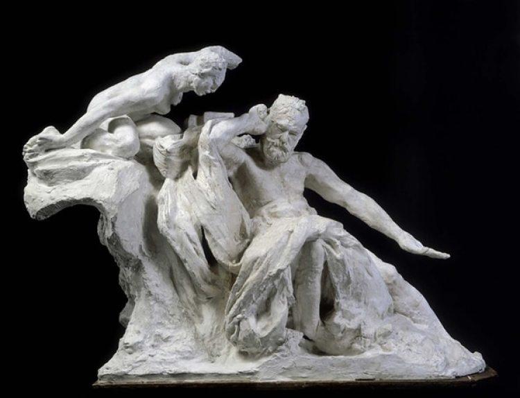 El Monumento a Víctor Hugo, de Auguste Rodin