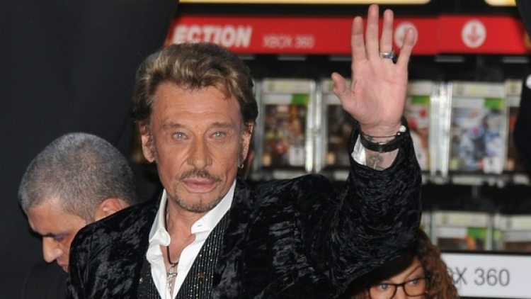 Johnny Hallyday. (getty)