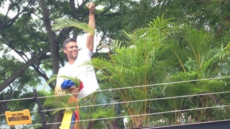 Leopoldo López cumple la condena desde su vivienda en Caracas