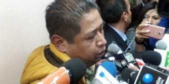 Hermano de la mujer velada en vida llora tras ser enviado a cárcel de La Paz