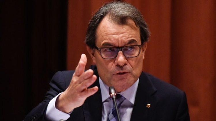 El ex presidente de la Generalitat de Cataluña Artur Mas (Getty)